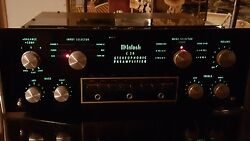 Mcintosh C28 PreAmplifier front panel LED bulbs lights lamps kit instructions