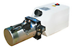 Power Unit Single Acting Solenoid Operated 6 Qt Poly Tank Db-1470-a
