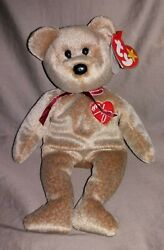 1999 Signature Bear Ty Beanie Baby Very Collectable Misspelled Gasportandnbsp