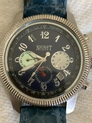 Nicolet 1886 Automatic Moon Phase Watch