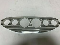 Universal Billet Gauge Panel Chevy Ford Dodge Plymouth Finned Style Six Gauge