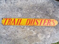 Vintage Off Road Club Sign 60s 70s Plymouth Trail Duster Dodge Ramcharger