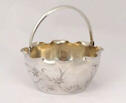 Small Bucket Ice Solid Silver Russian Yakov Lyapimov St-pétersbourg 20th