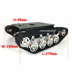 Metal Independent Suspension Tracked Robot Tank Chassis For Arduino Education