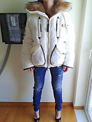Authentic DSQUARED Real Down UNISEX Jacket 72K031 size.40