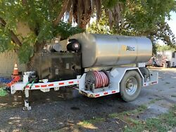 2011 Altec HLIW-1600T Trailer Mounted Insulator Diesel Power Pressure Washer