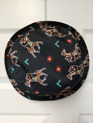 MENS RIOT SOCIETY BEAR GIRAFFE TRIBAL BLACK BUCKET HAT ONE SIZE $10.00