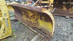10 Ft. Gledhill Snow Plow Snowplow Power Angle 29 Husting Hitch Turn 36