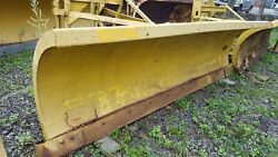 10 Ft. Gledhill Snow Plow Snowplow Power Angle 29 Husting Hitch Turn 39