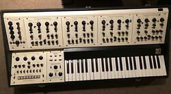 VINTAGE OBERHEIM FVS-1 FOUR VOICE POLYPHONIC SYNTHESIZER. ANALOG from the 70's!