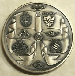 1st Special Operations Command Socom Airborne Army Forces Challenge Coin