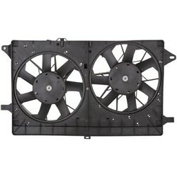 Spectra Premium Dual Radiator and Condenser Fan Assembly P/N:CF12102