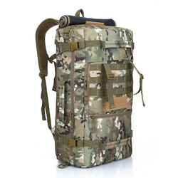 50l Large Capacity Military Molle Hiking Camping Bag Tactical Trekking Backpack
