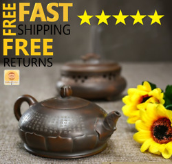 Antique Tools Vintage Style Handmade Chinese Teapot Pottery Drinks Collectibles