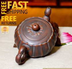 Antique Tools Vintage Style Zisha Handmade Chinese Teapot Pottery Collectibles