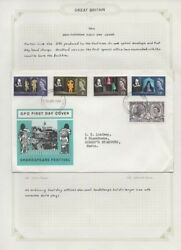 1936-1964 Great Britain First Day Issues 3 Lots B