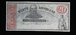 20 State Of Louisiana Remainder Note Cr-13 Choice Cu