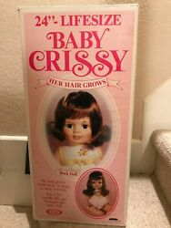 Vintage Ideal Baby Crissy 24 African American Variant Hair Grow