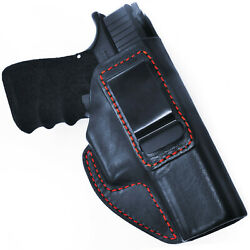 Fits Glock 19 / Glock 17 Iwb Leather Holster Right Handed Conceal Carry Ccw