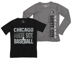 MLB Youth Chicago White Sox Fan Two Piece Performance T-Shirt Combo Set $34.99