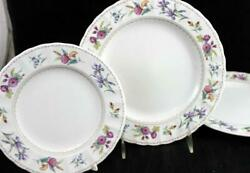 Mikasa Brywood Bread And Butter Plate + 2 Salad Plates Caj04 Great Condition