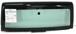 2007-2013 Jeep Wrangler Front Windshield Glass And Frame Black Glass Unlimited