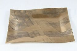 Wendall August Solid Bronze Nra Flag Tray