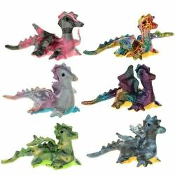 Flying Dragon Design Sand Animal Toy Party Bag Stocking Filler Stress Relief