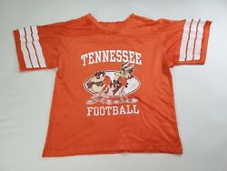 Vtg 90s Looney Tunes Tennessee Vols Football Jersey Small