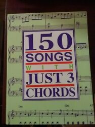 Sheet Music Song Book - 150 Songs With Just 3 Chords 1990 Pete Dino Mary Gold