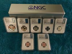 The Ultimate And Rare 2019 Explore And Discover Coin Set Certified By N.g.c