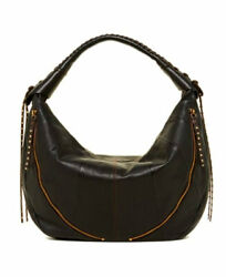 NEW OrYANY Jasmine Whipstitch Leather Hobo in Brown $425 $289.99