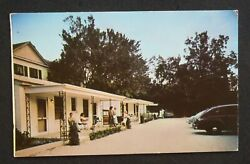 1956 Sterchi Lodge And Motor Court King St. Old Cars St. Augustine Fl St. Johns Co