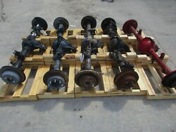 18 19 Ford F150 3.15 Ratio Locking Rear Axle Assembly Oem 17k Miles
