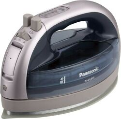 Panasonic Cordless Steam W Head Iron Silver NI-WL605-S from Japan