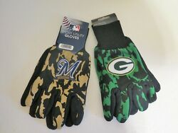 Two Pair Of Wisconsin Sport Utility Gloves From Forever Collectables