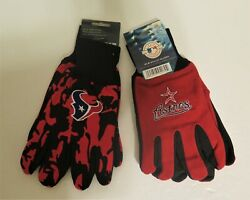 Two Pair Of Houston Sport Utility Gloves From Forever Collectables