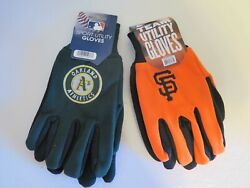 Two Pair Of Bay Area Sport Utility Gloves From Forever Collectables