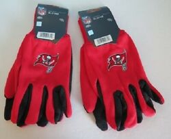 Two Pair Of Tampa Bay Buccaneers Sport Utility Gloves From Forever Collectables