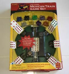 The Fundex Mexican Train Complete Accessory Game Set Locomotive Whistling Sound