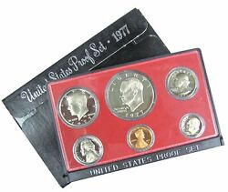 1977 S Us Mint Proof Set Factory Packaging