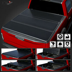 For 2004-2014 Ford F150 6.5and039 Short Bed Secure Tri-fold Hard Tonneau Cover 1pc