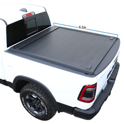 Fit 07-2021 Tundra Tonneau Cover 6.5ft Bed Retractable Waterproof Hard Aluminum