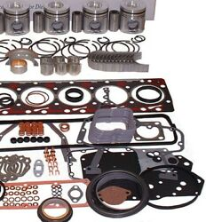 Fits Nissan K21 Lift Truck Fork Lift Engine Kit Forklift Pistons And Rings Only