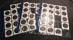 Collection Of One Penny Coins From Australia - 1911 To 1963