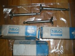Nos 1958 - 1964 Ford Truck 292 Y-block Exhaust Valves C0te-6505-a