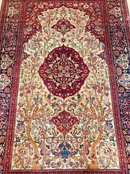 Beautiful Antique Hand Made Rug Size 214x141cm