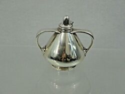 Fabulous Antique And Co Sterling Silver Table Cigar Lighter Art Deco Style