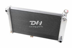 Polished 3 Rows Aluminum Radiator For 1988-1995 Chevy Trucks Van V6 V8 W/o Eoc