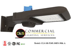 8 185watt Led Commercial Meanwell Driver Outdoor Warehouse Square/round Pole